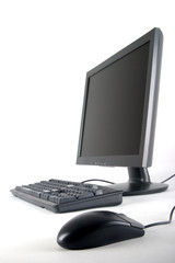 keyboard monitor and mouse
