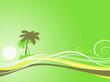 exotique vert