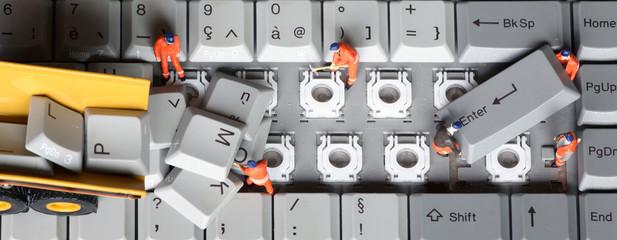 chantier clavier 12