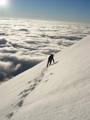 climber in high tatras