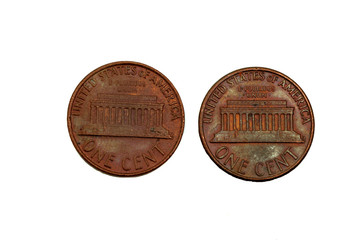 old rusted two cents