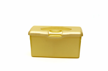 yellow diaper box