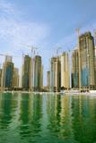 dubai marina, united arab emirates poster