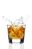 Fototapety whiskey splash