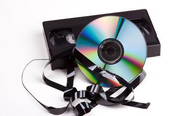 video contra dvd