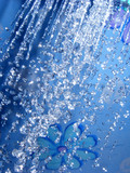 blue shower