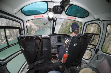helicopter ride in norway