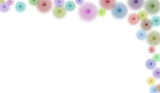 border/business graphic - right hand border of swirls poster