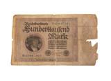 vintage german reichsbanknote poster