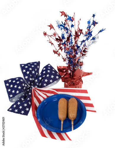 poster of fourth of july corn dogs