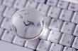 world wide web, globe on a keyboard