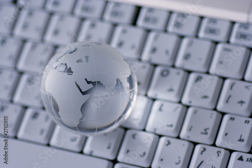 world wide web, globe on a keyboard