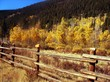 Rural Country Autumn Scenic In Colorado