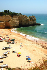 portugal wide beach