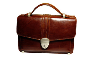 briefcase (case) isolated for business