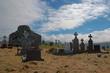 old irish churchyard