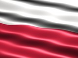 Fototapety flag of poland