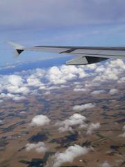 paysage et nuages