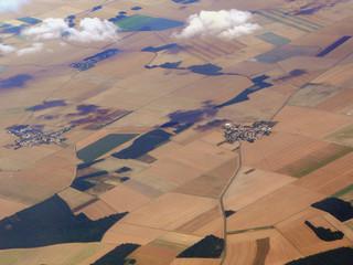 paysage vu du ciel