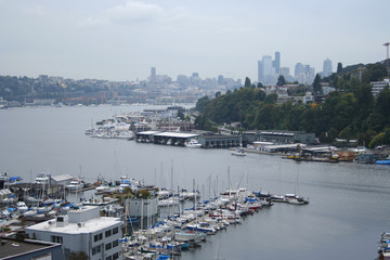 house boats on lake union