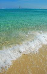 calm sea, smooth sailing