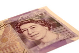 uk currency - notes poster