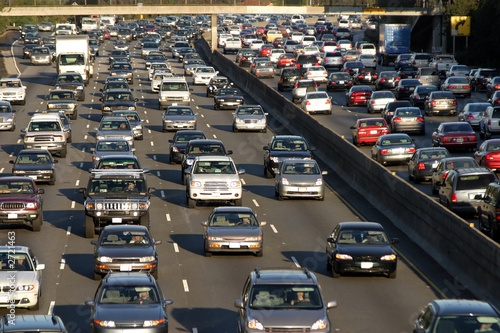 rushhour in los angeles