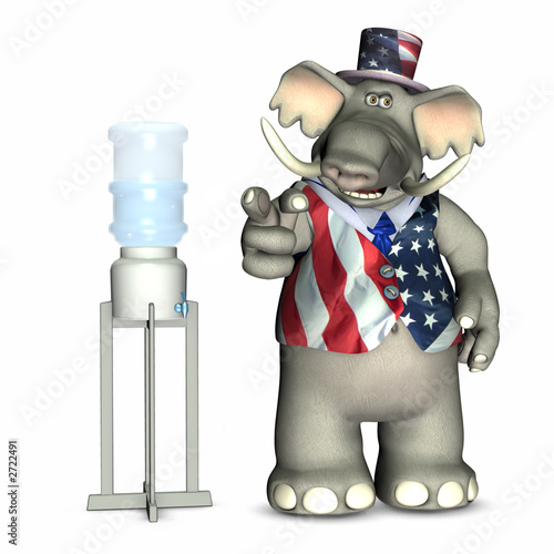 poster of water cooler politics - republican