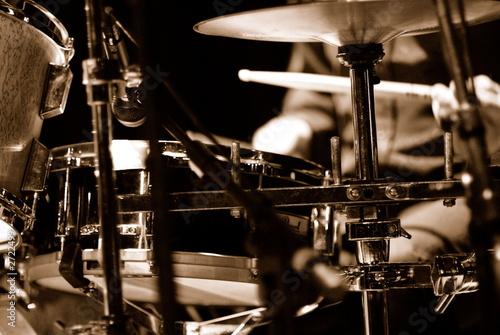 batteur sur scène