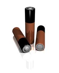 3 aaa batteries