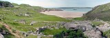 panoramic view of the east coast of scotland poster
