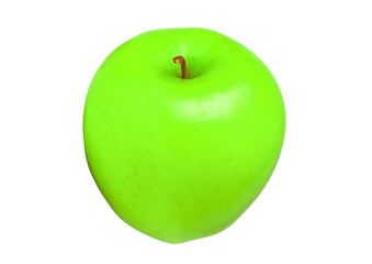 apple green color isolated