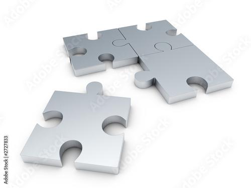 steel puzzle