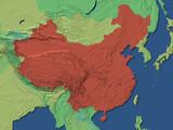 china map poster