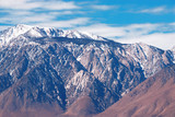 panamint mountain range in death valley, california, usa poster