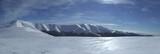 wonderful winter mountains poster