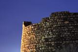 kale fortress in skopje, macedonia poster