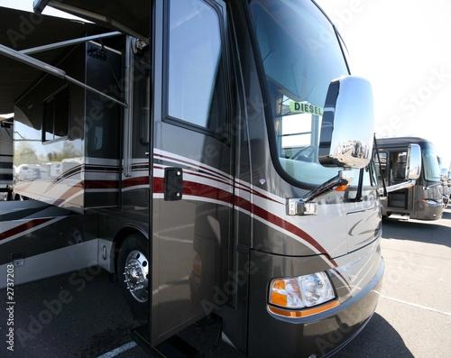 Leinwanddruck Bild motorcoach