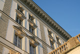 baroque palace nymphenburg poster
