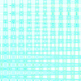 blue squares gift wrap poster