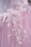pink lace (closeup) poster