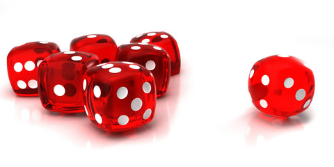 red dice dof