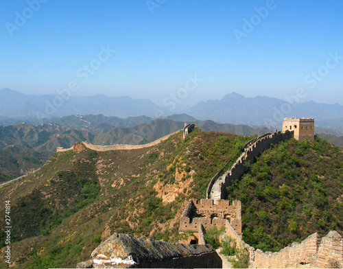 Fotobehang Chinese Muur great wall
