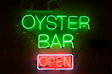 oyster bar sign poster