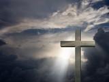 dramatic cross poster