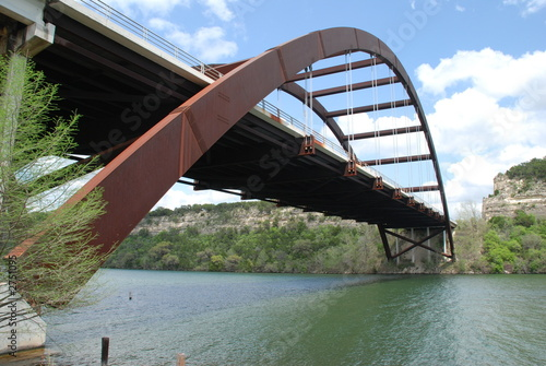 Foto op Canvas Texas loop 360 bridge in austin