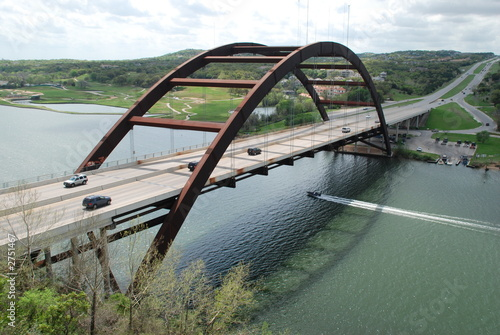 Foto op Canvas Texas pennybacker bridge