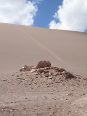 sand dune in the atacama desert