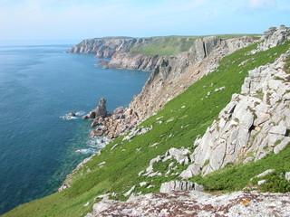 lundy cliffs