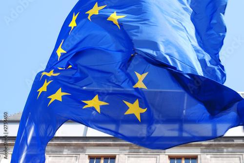 Poster europa eu fahne